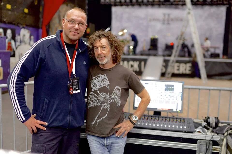Marijo Suica and Simon Phillips
